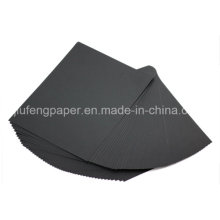 Good Quality 100% Wood Pulp 180g Black Paper